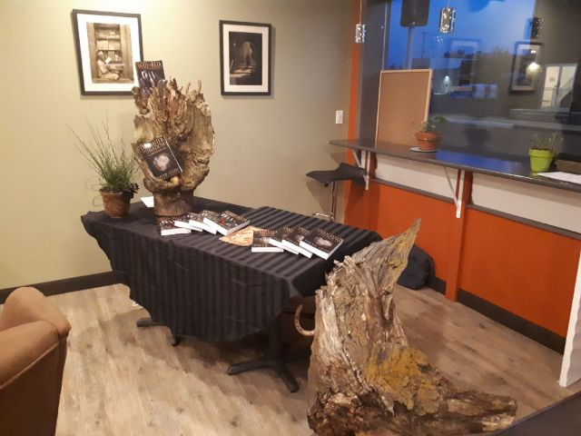 Stump and Table Display